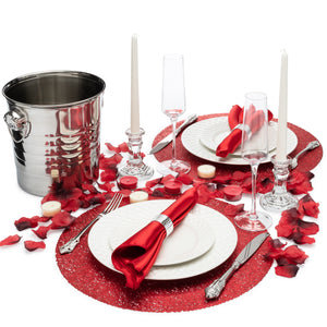 Dinner for Two Proposal Décor Romance-in-a-Box