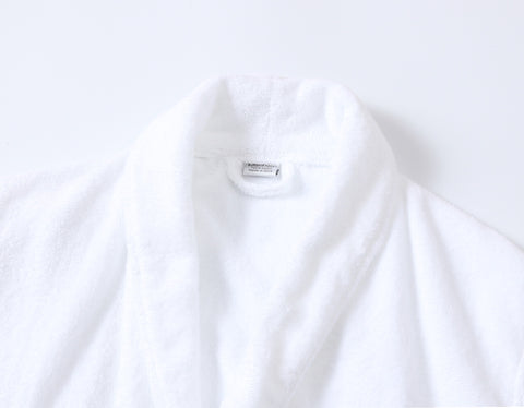 Image of terry cotton robe set for couples