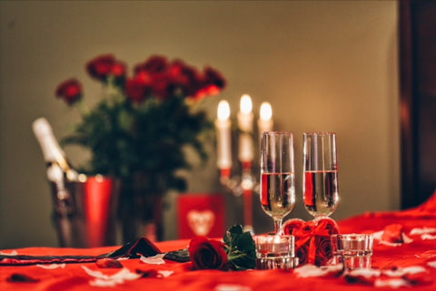 Image of romantic proposal ideas for home