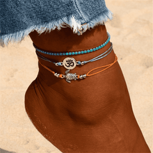 Beach Paradise Bohemian Bead Anklet - Spirited Jungle