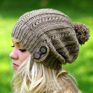 Miley Knitted Beanie - Spirited Jungle