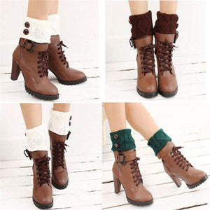 Alice Knit Boot Toppers - Spirited Jungle
