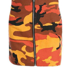 Camo Danger Skirt - Spirited Jungle