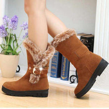 Diamond Palace Fur Snow Boots - Spirited Jungle
