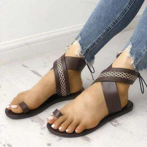 Rio Cross Strap Sandals - Spirited Jungle