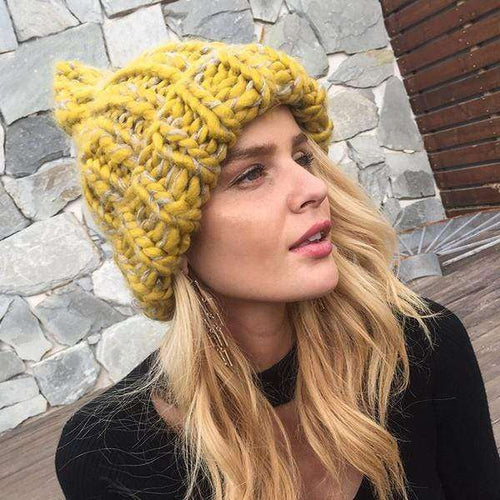 Holly Wool Beanie - Spirited Jungle