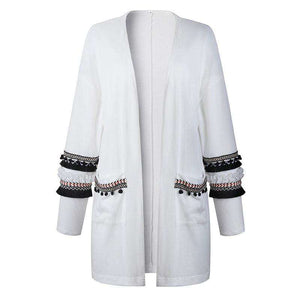 Katherine Tassel Cardigan - Spirited Jungle