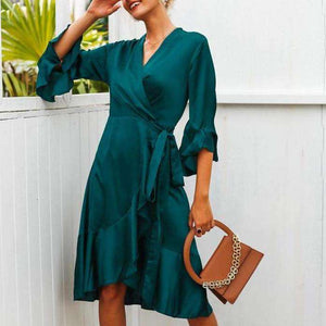 Andrea Dress - Spirited Jungle