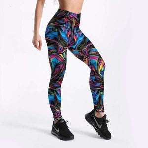Psychedelic Fuse Leggings - Spirited Jungle