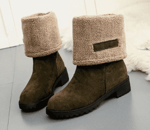 Audrey Fur Boots - Spirited Jungle