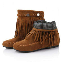 Kayla Tassel Boots - Spirited Jungle