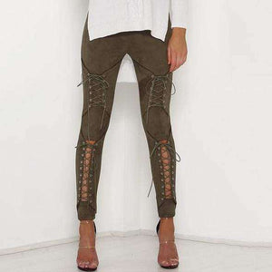 Lace Me Down Pants - Spirited Jungle