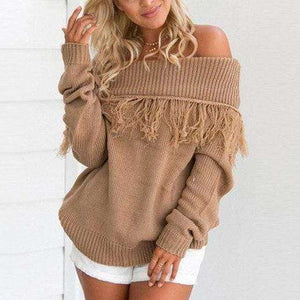 Talia Tassel Sweater - Spirited Jungle