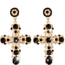 Crusader Rhinestone Earrings - Spirited Jungle