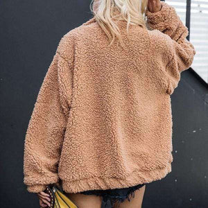 Teddy Oversized Jacket - Spirited Jungle