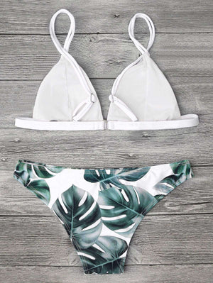 Leafy Bikini Set - Spirited Jungle
