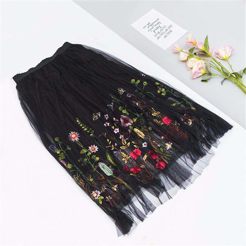 Floral Springs Skirt - Spirited Jungle