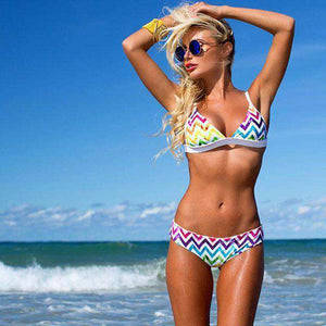 Rainbow Bikini Set - Spirited Jungle