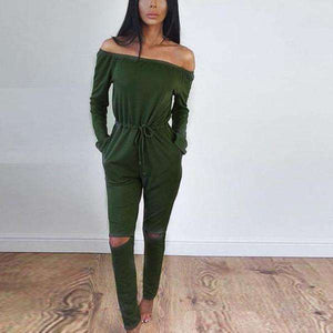 Alexa Jumpsuit - Spirited Jungle