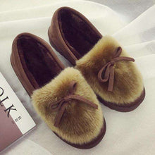 Valerie Fur Moccasins - Spirited Jungle
