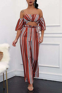 Retro Split Jumpsuit - Spirited Jungle