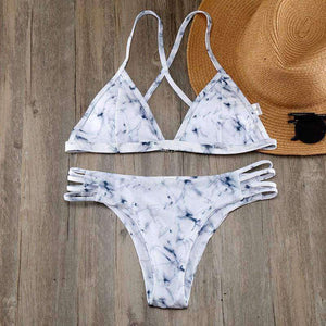 Marble Bikini Set - Spirited Jungle