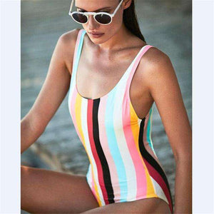 Candy Paradise One-Piece Swimsuit - Spirited Jungle