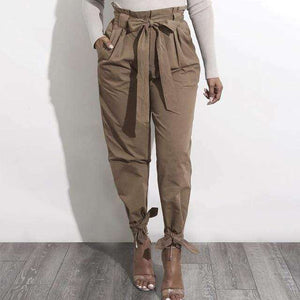 Jelena High Waist Harem Pants - Spirited Jungle
