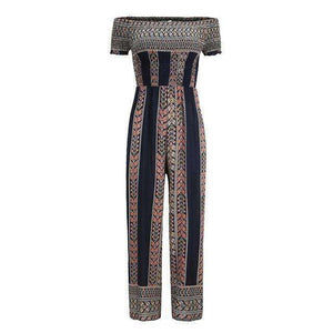 Ethnic Print Jumpsuit - Spirited Jungle