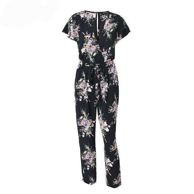 Floral Expansion Jumpsuit - Spirited Jungle