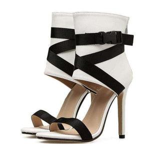 Cindy Buckle Heels - Spirited Jungle