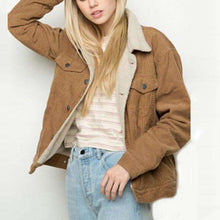 Brynn Corduroy Bomber Jacket - Spirited Jungle