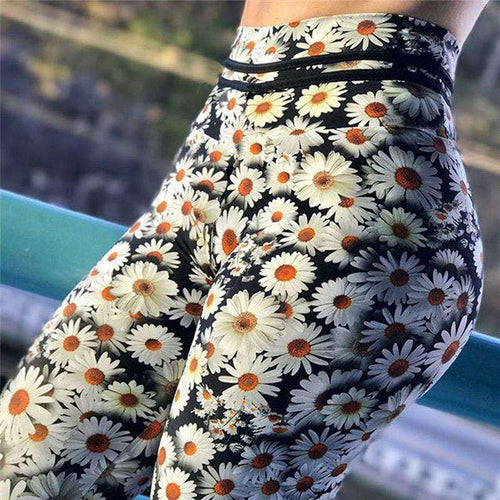 Floral Entrapment Leggings - Spirited Jungle
