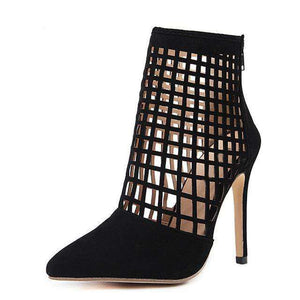 Zara Black Heels - Spirited Jungle