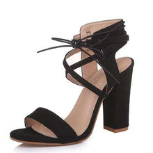 Lady Jane Suede Cross Strap Sandals - Spirited Jungle