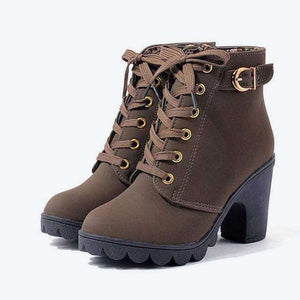 Aliza High Heel Boots - Spirited Jungle