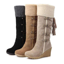 Hayley Wool Boots - Spirited Jungle