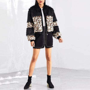Zoey Fur Coat - Spirited Jungle