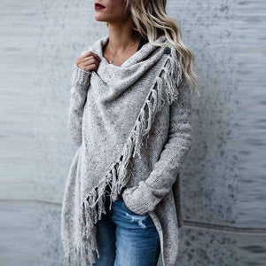 Norway Tassel Cardigan - Spirited Jungle