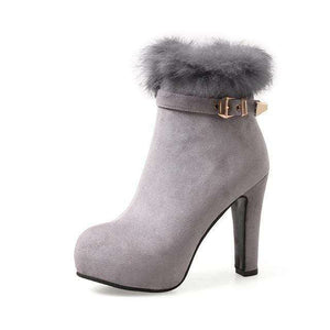 Denali Fur Boots - Spirited Jungle
