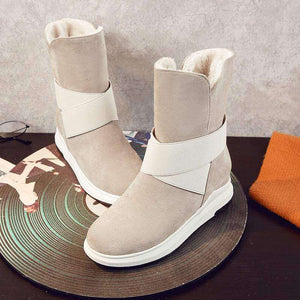Helix Strap Mid Calf Snow Boots - Spirited Jungle