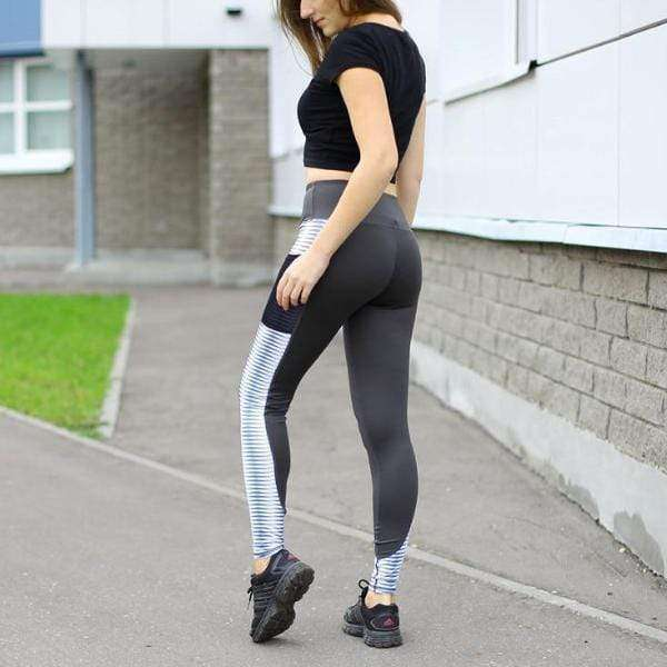 Tron Pocket Push Up Leggings - Spirited Jungle