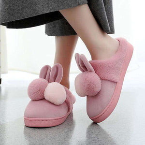 Bunny Fur Slippers - Spirited Jungle