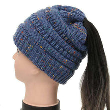 Anna Ponytail Beanie - Spirited Jungle