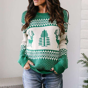 Xmas Eve Knitted Sweater - Spirited Jungle