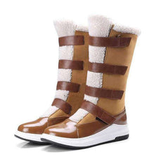 Gwen Mid-Calf Snow Boots - Spirited Jungle