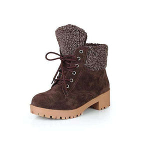 Hailey Fur Ankle Boots - Spirited Jungle