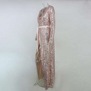 Francie Sequin Maxi Dress - Spirited Jungle