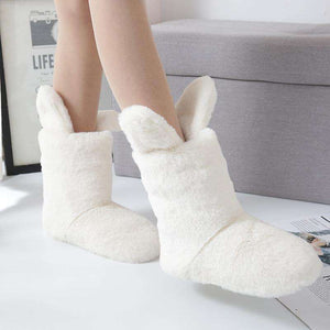 Bunny Ears Boot Slippers - Spirited Jungle