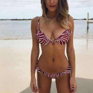 Naples Push Up Bikini Set - Spirited Jungle